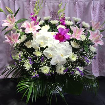 葬儀用生花 25,000円(税別)